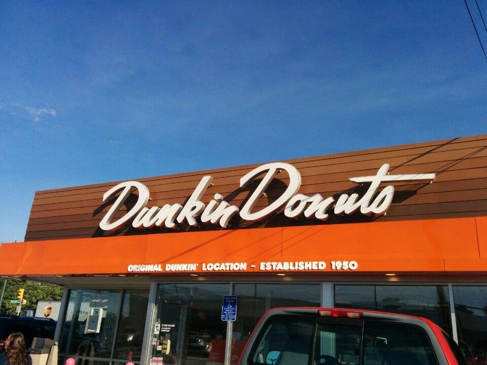 The Original // Dunkin Donuts in Quincy, MA Dunkin