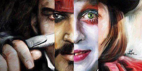 Jonnhy Depp Characters
