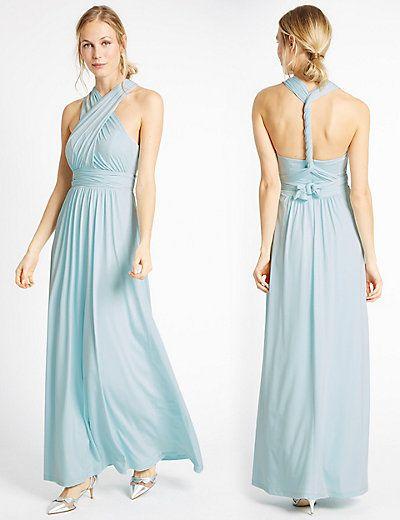 Multiway Strap Maxi Dress   M&S   Bridesmaids   Pinterest   Maxi dresses
