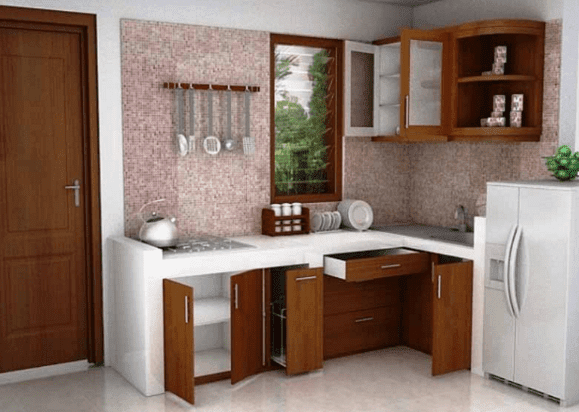 Contoh Dekorasi Dapur Cantik Idekunik Com Dekorasi Rumah Di 2020 Dapur Cantik Desain Dapur Dapur