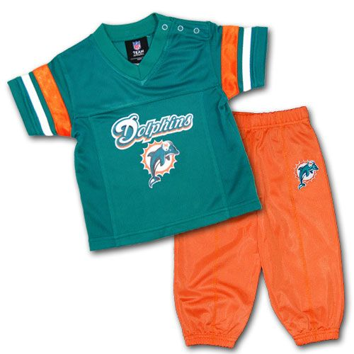 92cb60b5 Miami Kids Uniform Set #Miami #Dolphins #Infant #Baby #Toddler ...