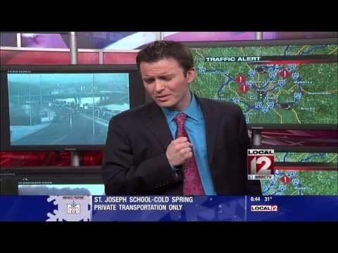 Traffic Reporter Sings LET IT GO PARODY from FROZEN Movie FUNNY VIDEO bob herzog - YouTube