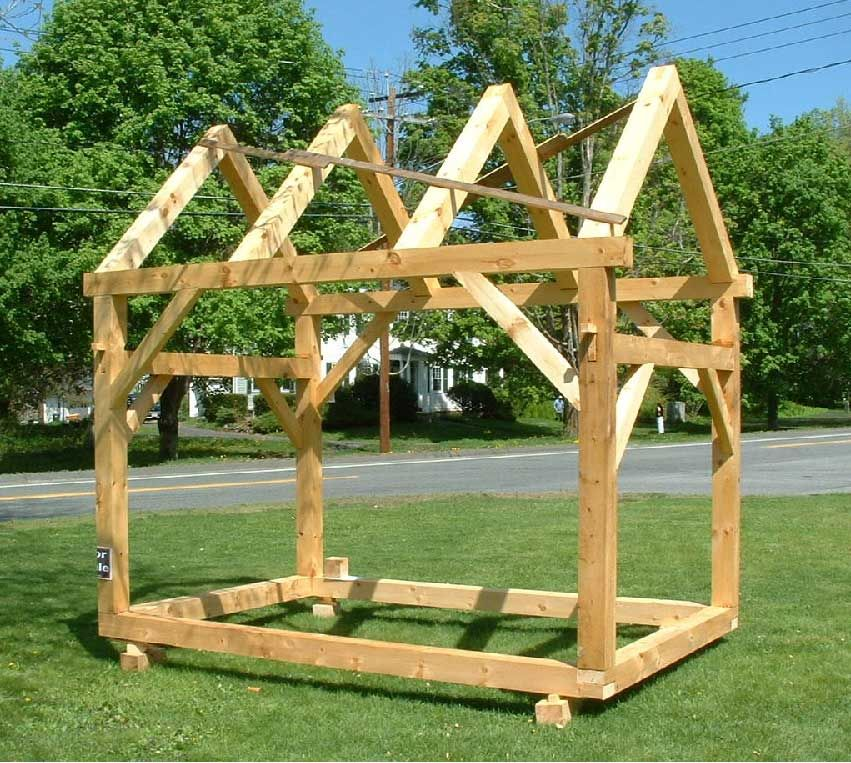 Superb Basic Timber Frame Structure Fetrae Pinterest Sheds Post And Largest Home Design Picture Inspirations Pitcheantrous