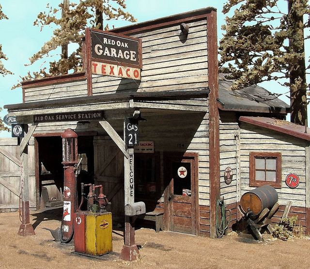 Rog 1 Gas Station Old Gas Stations Old Gas Pumps