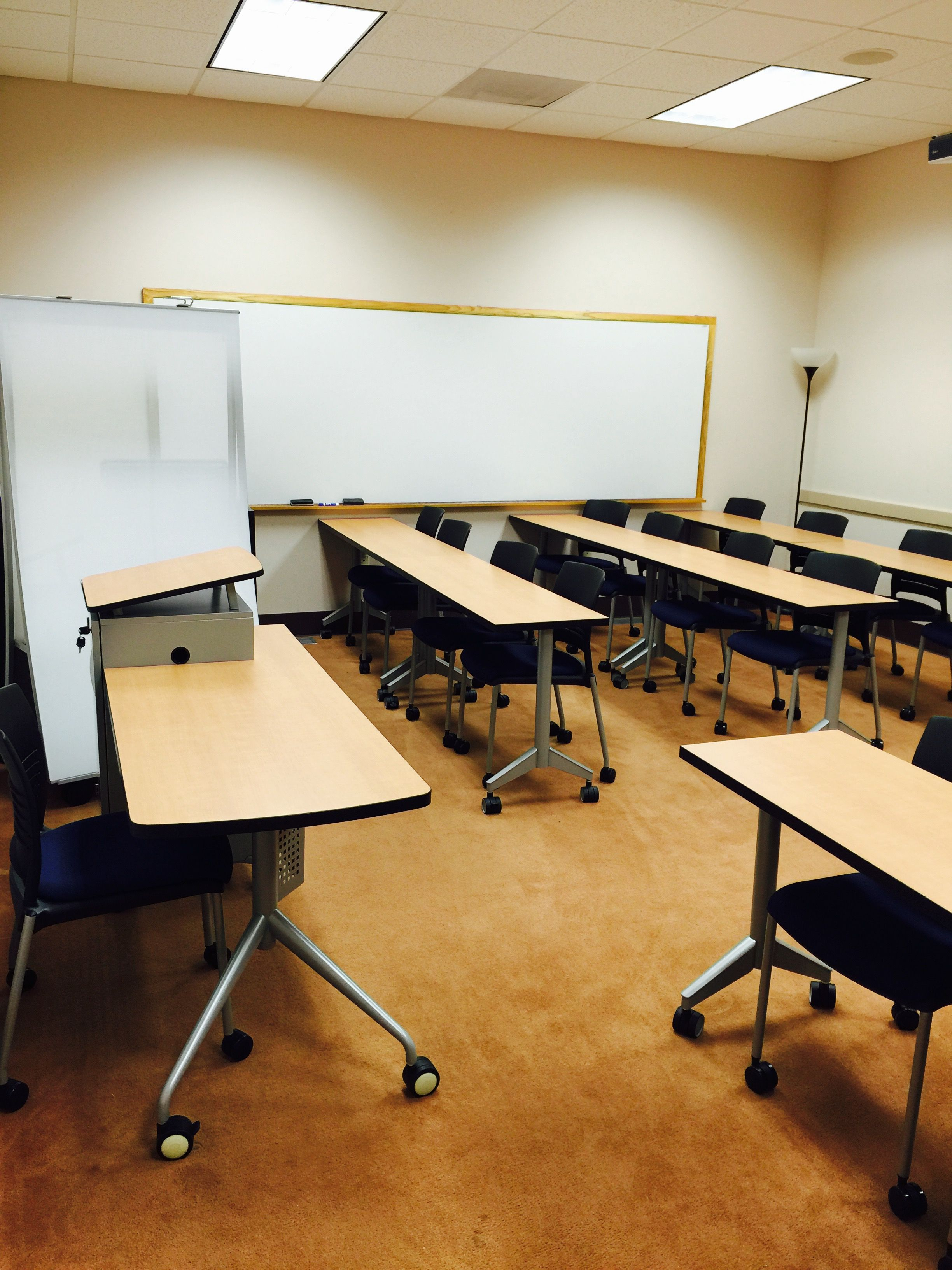 what a great install of all terrain teachers desks, pirouette