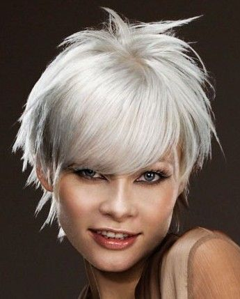 short grey  grey hair color cute hairstyles for short