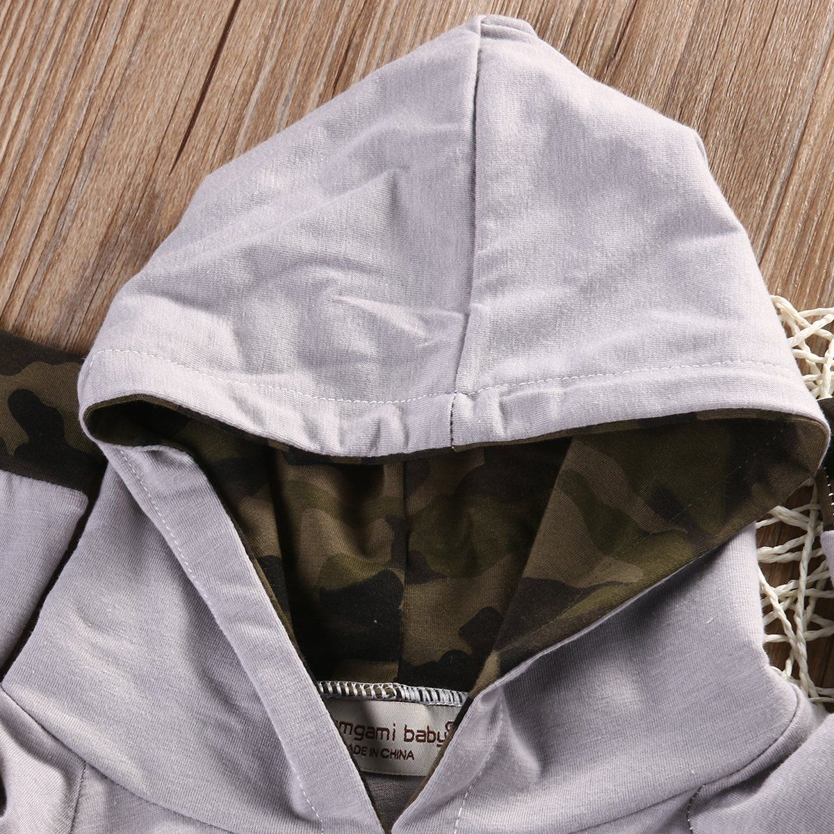 7323f235e Newborn Infant Baby Boy Girls Camouflage Clothes Hooded TShirt Tops Pants  Outfits 06 Months ** Read more reviews of the product by visiting the link  on the ...
