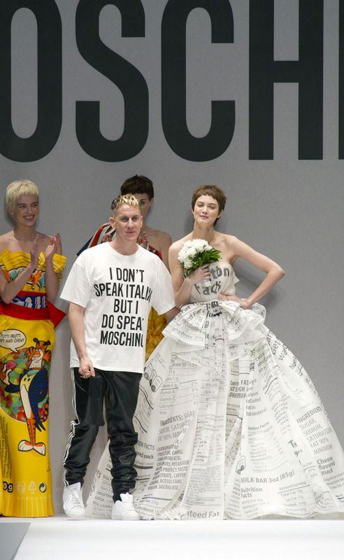 Moschino #MFW Jeremy Scott