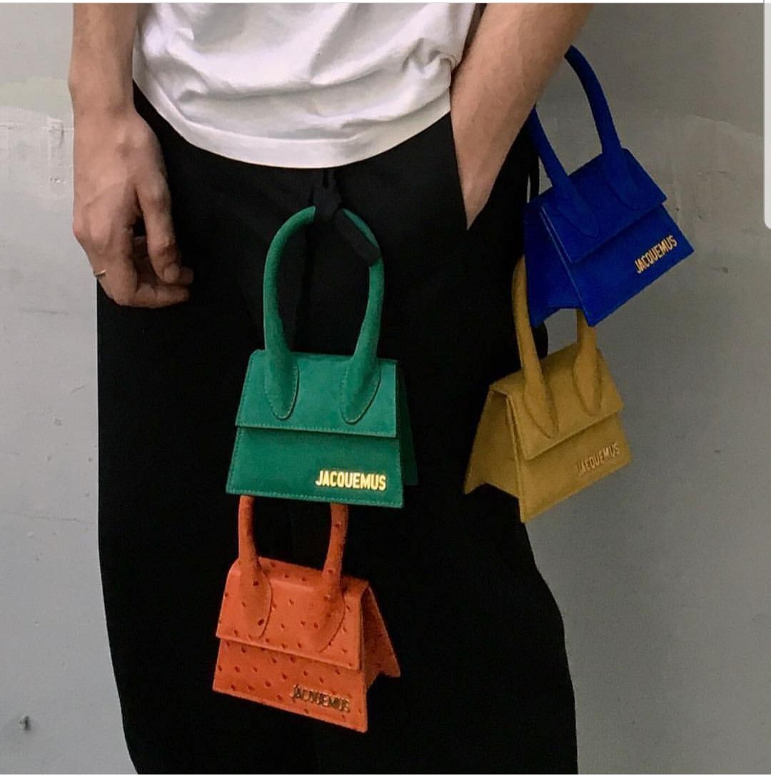 22fad403b6 JACQUEMUS BAGS YELLOW LA SAC  CHIQUITO  SUEDE MINI BAG