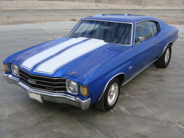 1972 Chevrolet Chevelle Malibu Custom 2 Door Coupe Except For The