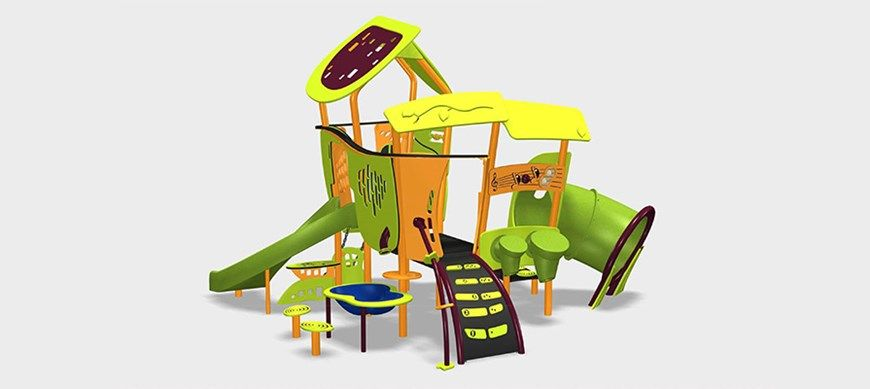 Smart Play Motion Compact Early Childhood Playground Outdoor
