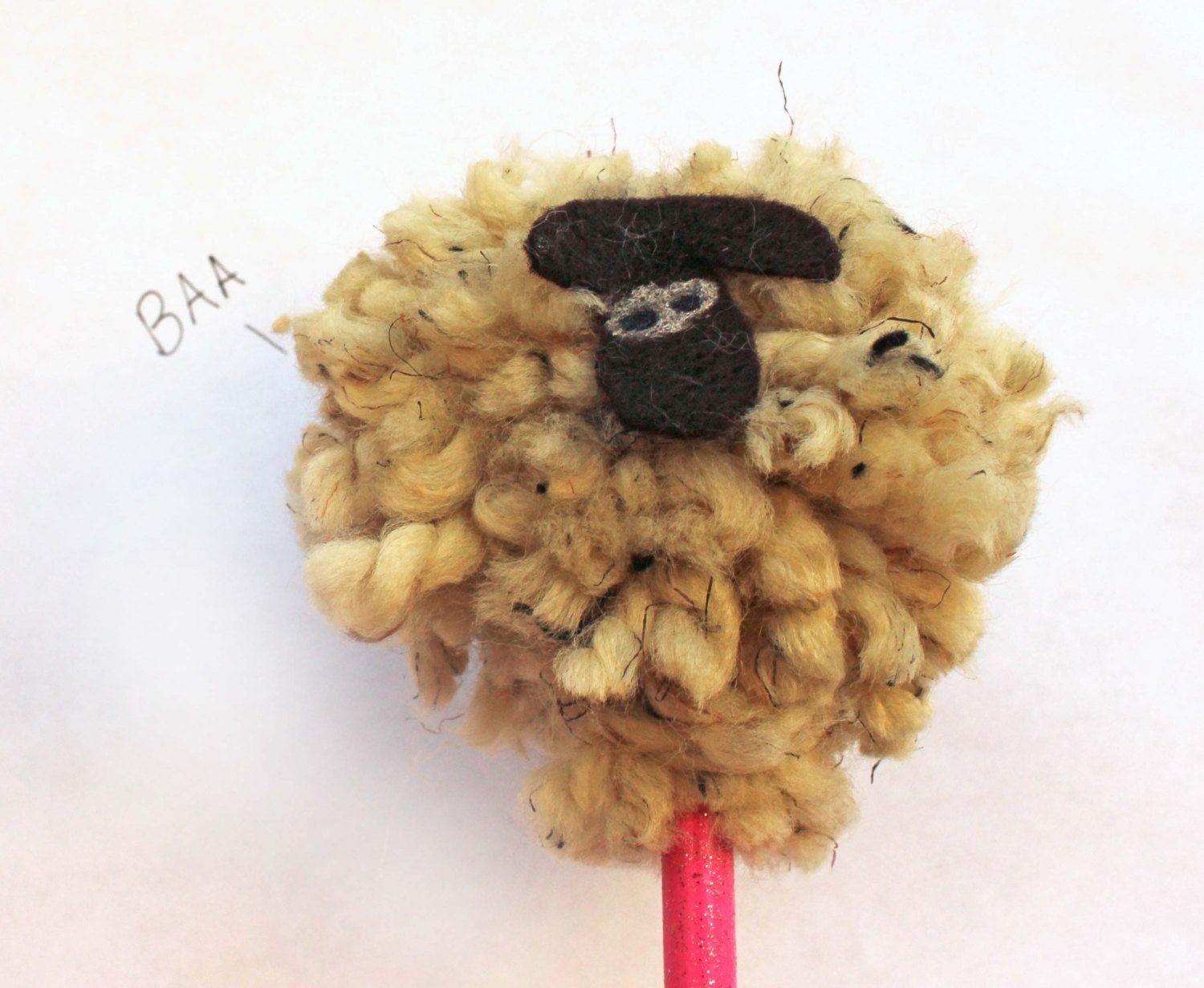 Animal Pencil toppers - Sheep - Hedgehog - Stocking ...