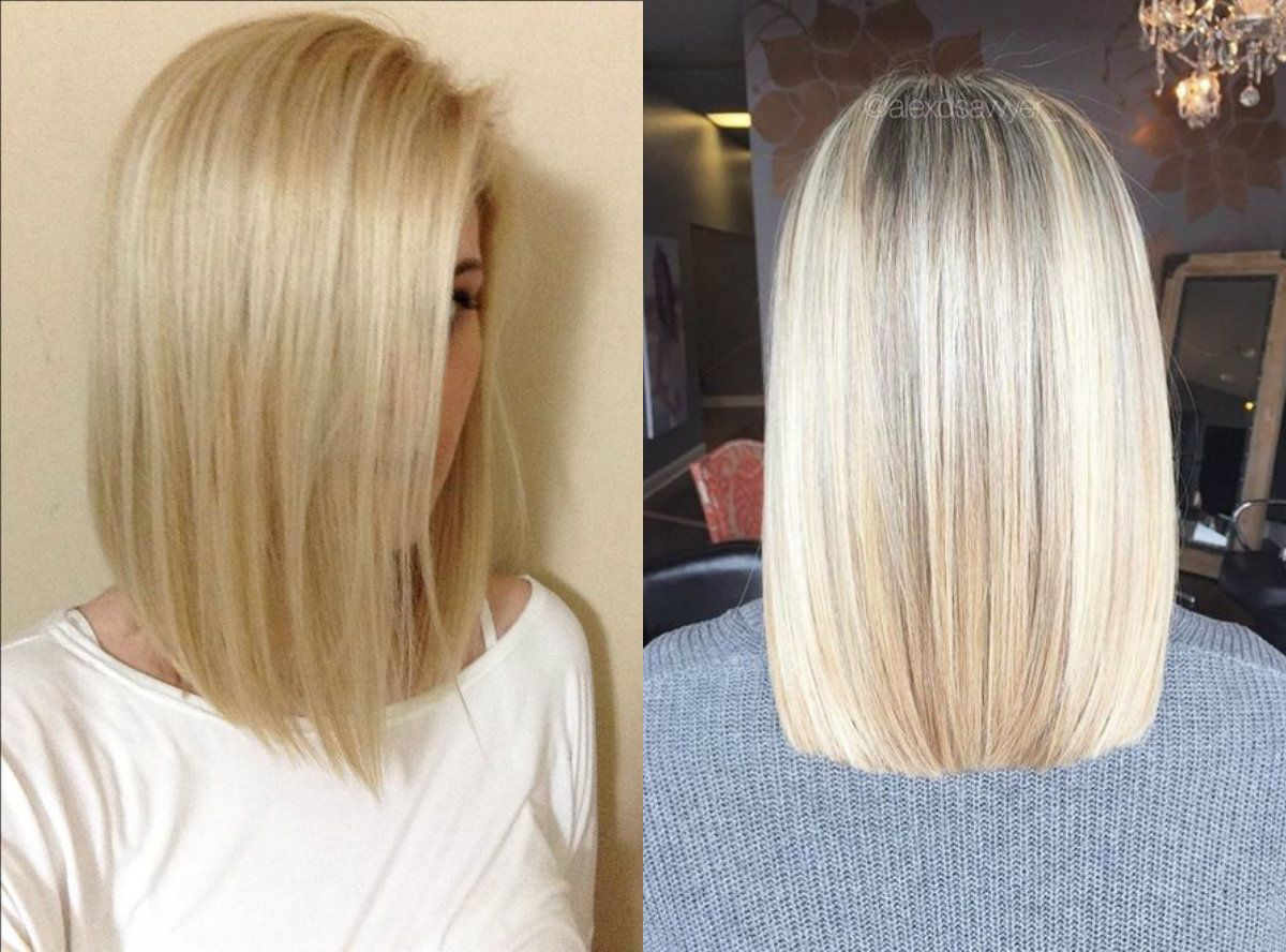 Die Perfekten Mittleren Blonden Frisuren 2017 In 2018 Hair And
