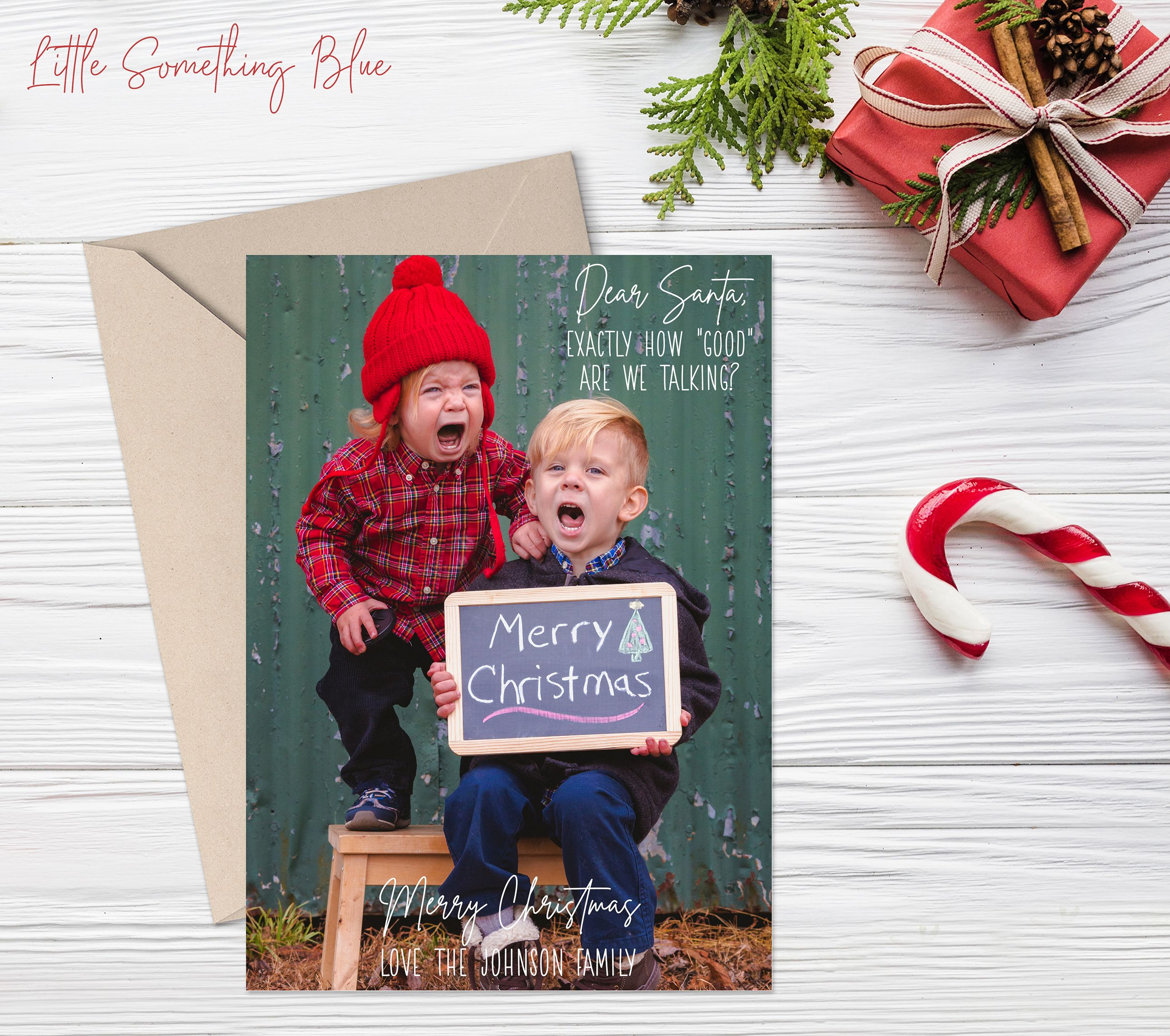 Funny Christmas Card Template Happy Holidays Family Photo Etsy Christmas Card Template Family Holiday Photo Cards Funny Christmas Cards