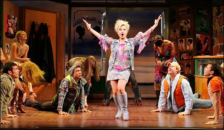 """My character in Legally Blonde the Musical singing """"Bend and Snap"""""""