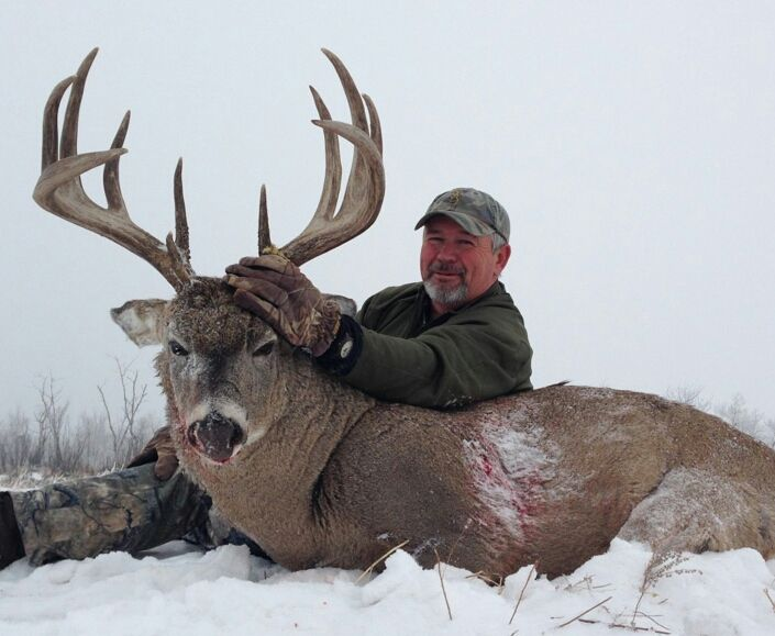 Come to Alberta where the Whitetail Deer are huge! visit http://www.abhunting.com to find an outfitter.  Picture yourself in a heated tree stand overlooking rich farmland, rolling hills and river bottoms. It's November; the rut is in full swing and out of nowhere he appears - the trophy of a lifetime! If this is what you have been looking for   Lee McNary of Alberta River Valley Lodge can make this dream a reality! Contact Lee at http://www.rivervalleylodge.com
