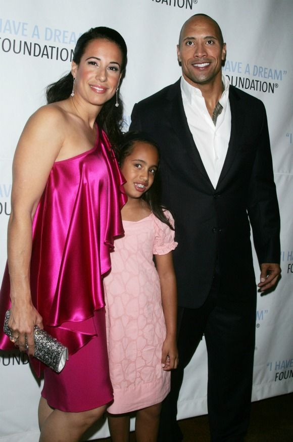 Dwayne The Rock Johnson Wife 2014
