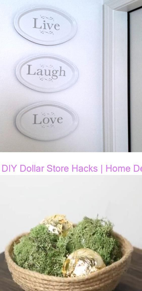 Photo of DIY Dollar Store Hacks   Home Decor Craft Projects #118284