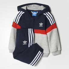Adidas Trefoil Hoodie Set With Images Kids Outfits Carters