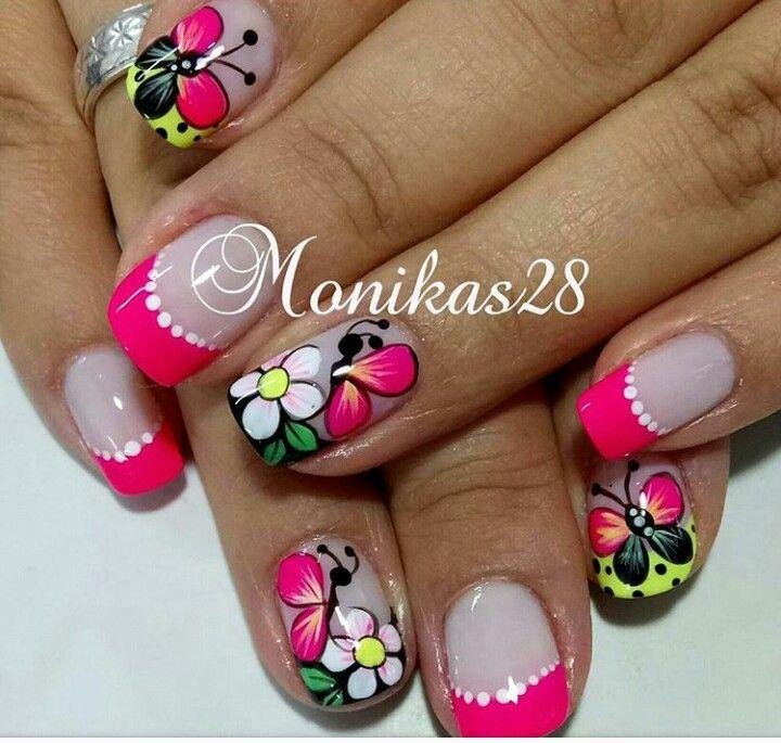 Pin de emperatriz velez en uñas | Pinterest | Diseños de uñas ...