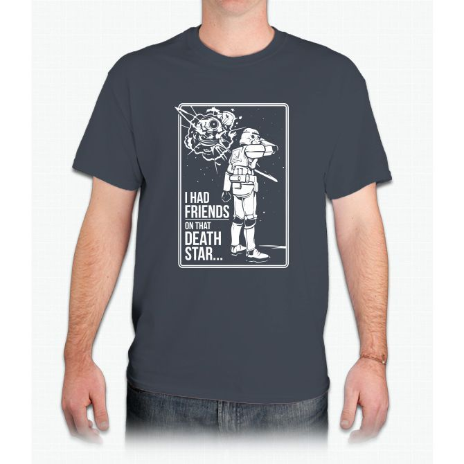 Friends On That Death Star - Mens T-Shirt
