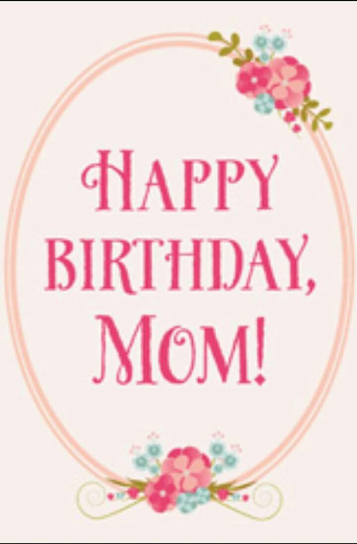 Happy Birthday Mom Printable Cards Thedoctsite