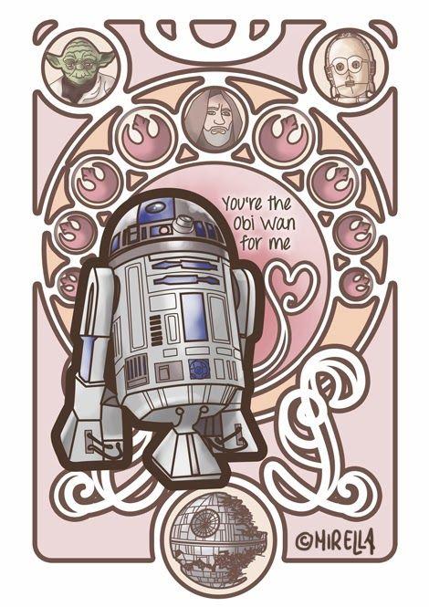 Star wars valentinstag
