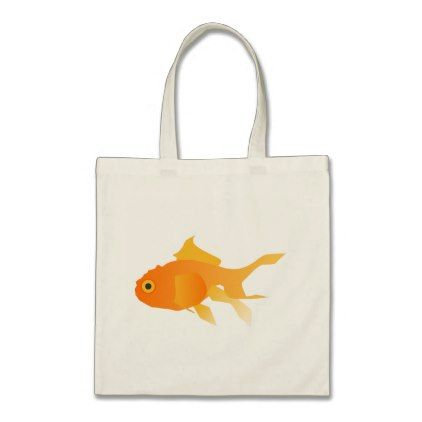 Goldfish Tote Bag Animal Gift Ideas Animals And Pets Diy Customize
