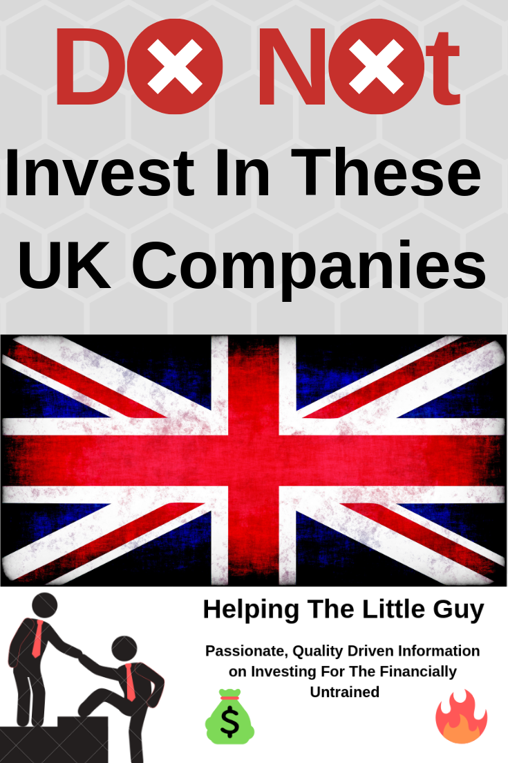 Invest Companies Do Not Invest In These Uk Companies Investing For Beginners