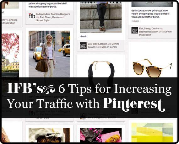 6 consejos para aumentar el tráfico a tu blog con #Pinterest