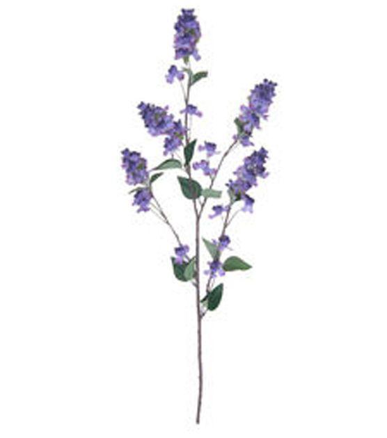 Blooming Spring Lilac Tall Floral Spray Dark Purple Joann Jo Ann Lavender Aesthetic Lilac Floral Spray