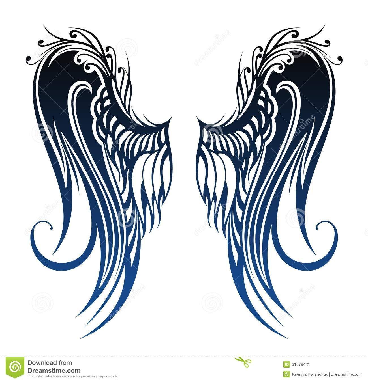 alas de angel dibujo  TATUAJES  Pinterest  Tattoo designs