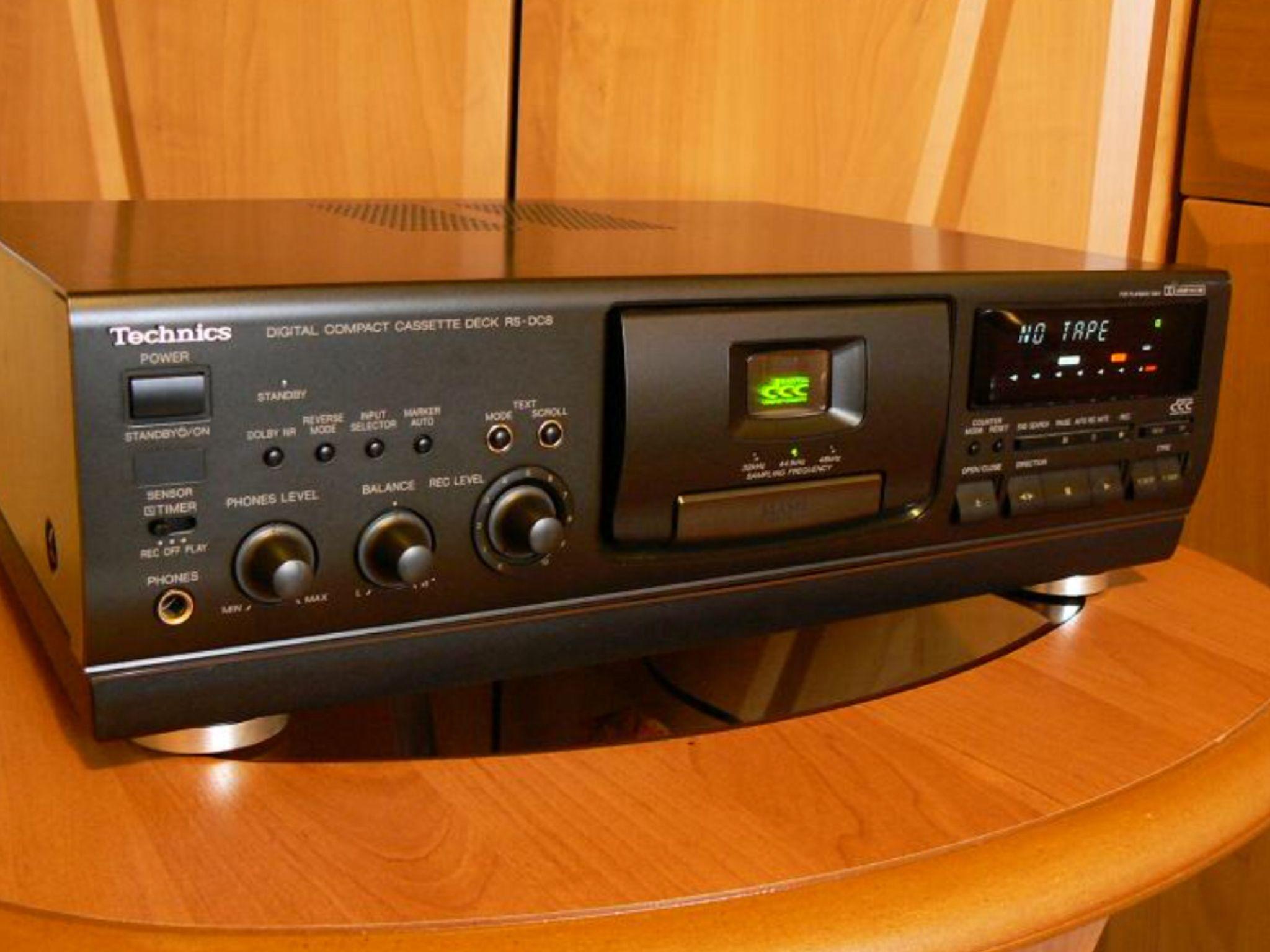 Technics Rs Dc8 Dcc Deck 16 Bit Pasc Stereo Audio Pinterest Amplifier Mono With Ic Tda7293 100 Watts Xtronic