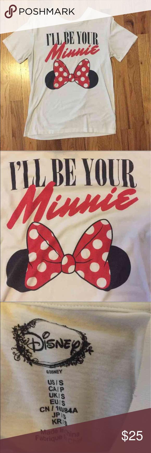 """""""I'll be your Minnie"""" t-shirt Comfy t-shirt Disney Tops"""
