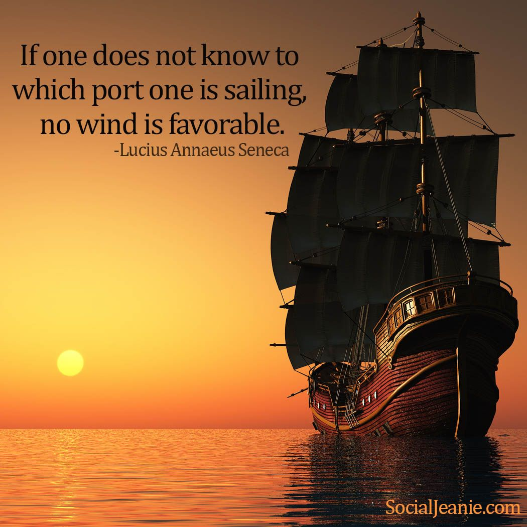 Sailing Inspirational Quotes: Way To Start Your Day. It Reenforces A Positive Attitude