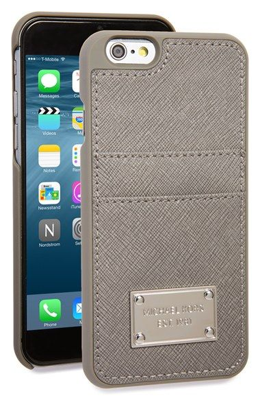 pretty nice 877ff 13b44 MICHAEL Michael Kors Card Holder iPhone 6 & 6s Case available at ...