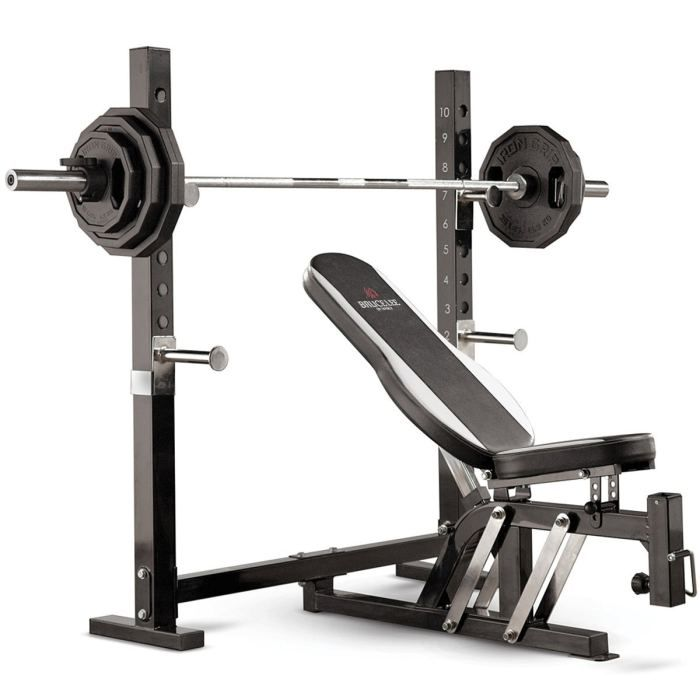 Marcy Bruce Lee Dragon Olympic Weight Bench Olympic Weights