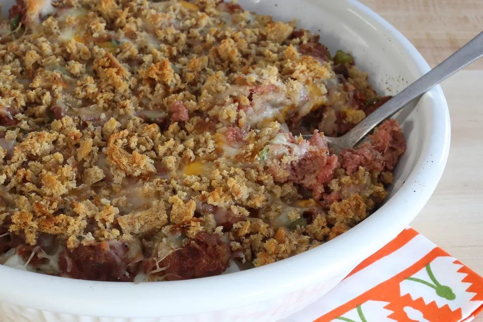 Just chuck all the ingredients in it in the morning and by late afternoon you have a delicious dinner. Crock Pot Reuben Casserole With Corned Beef   Recipe in ...
