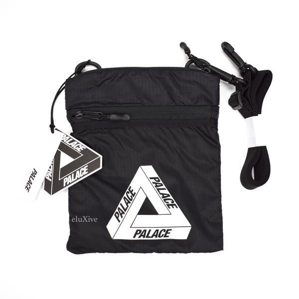879f0ade Palace - Tri-Ferg Logo Flat Sack (Black) in 2019 | bags | Black ...