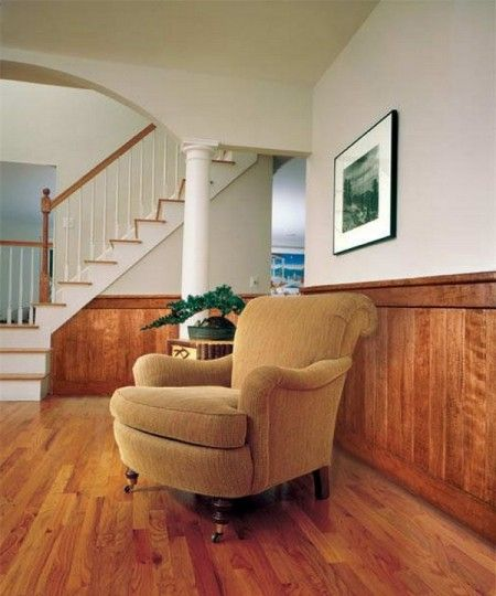 Painting Wood Paneling Half Wall Living Room Pinterest