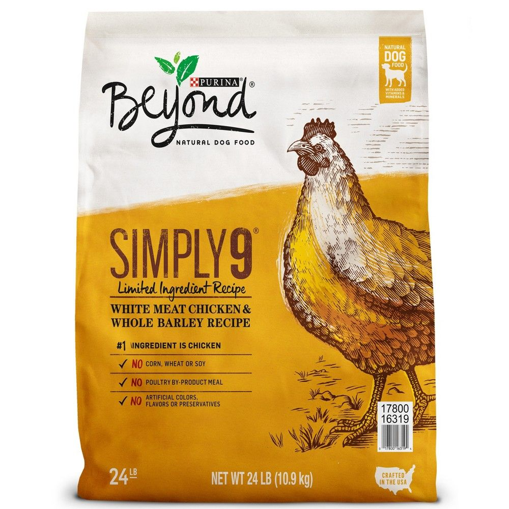 Purina Beyond Simply 9 White Meat Chicken And Whole Barley Dry Dog