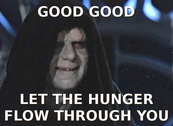 On Diet Do Not Approach With Food Star Wars Vader Star Wars Popular Culture