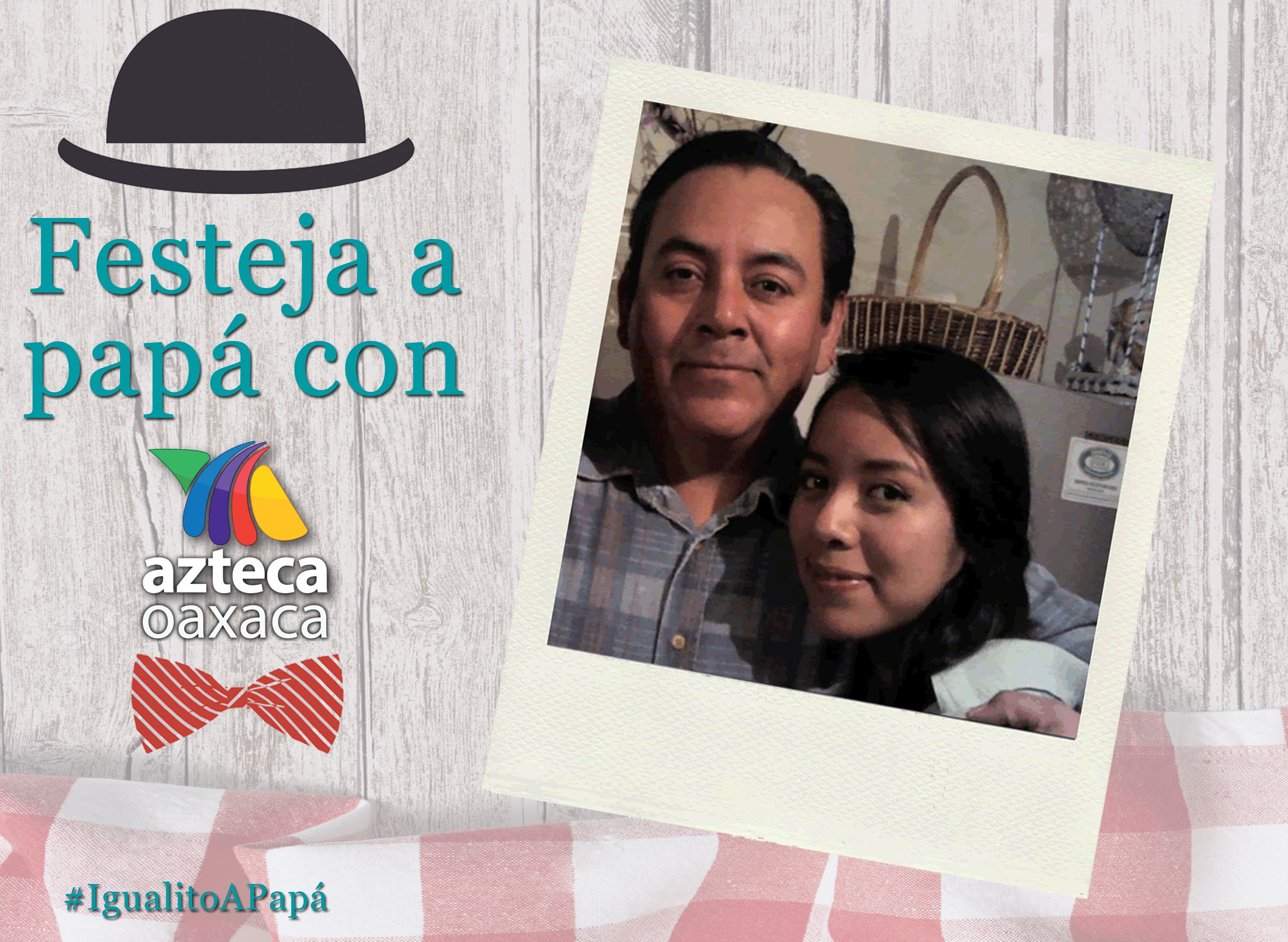 Alejandra es #IgualitaAPapá Alejandro.
