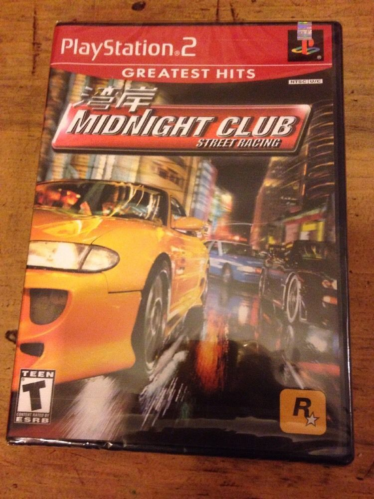 Midnight Club Street Racing Ps2 New Complete Sealed In Box