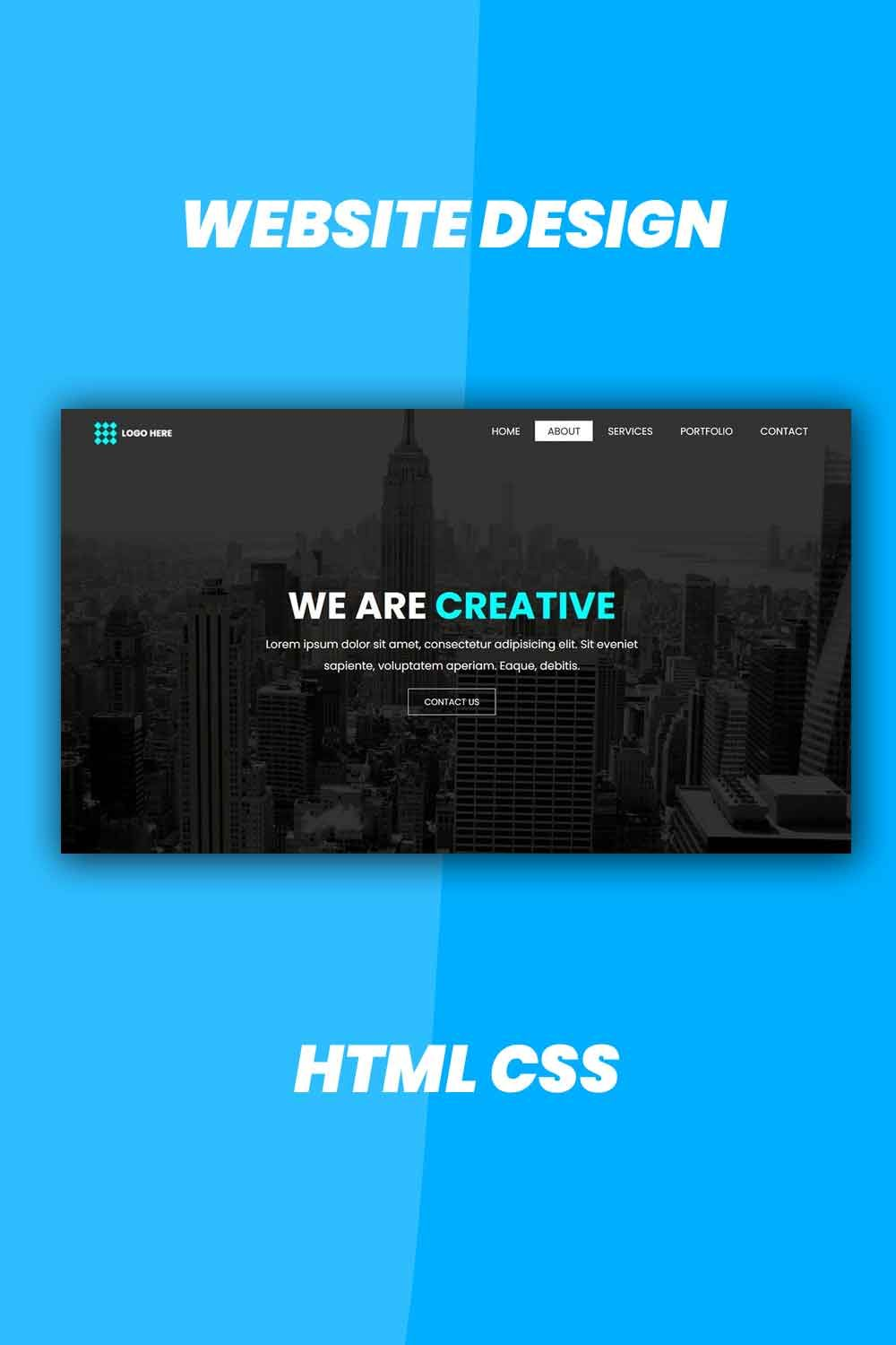 How To Create A Website Homepage Using Html Css In 2021 Homepage Design Html Css Css