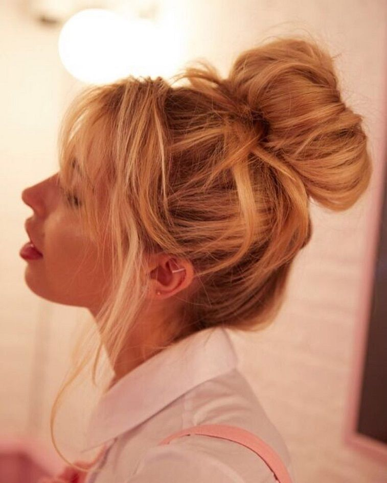 Lovely updo hairstyle