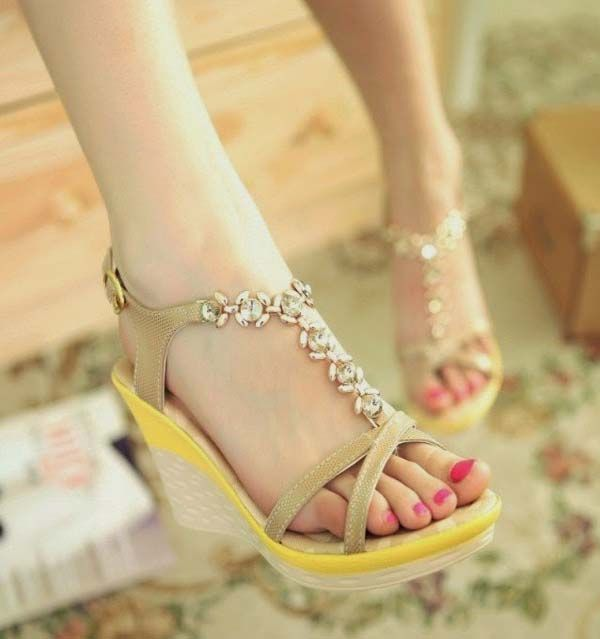 80529547069 Flat Shoes Designs for Girls Kids Collection 2018 Comfortable Womens High  Heel Wedding Shoes - YouTube