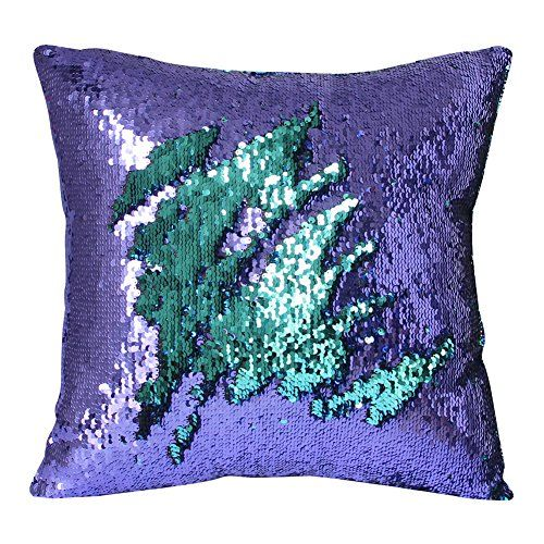 Kids Mermaid Shape Pillowcase – Lilac