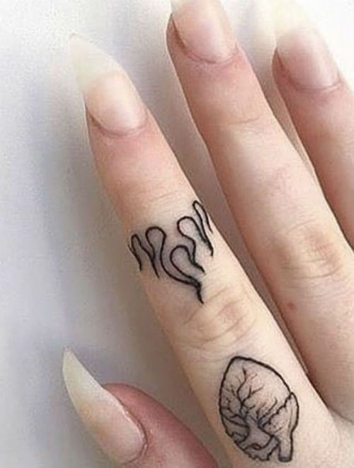 Photo of New eye-catching celebrity-inspired finger tattoo designs you'll be expressing this year … – Tattoo designs – Blackberry BLog
