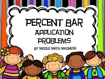 Percent Bar Application Problems Even, odd, 100 days of